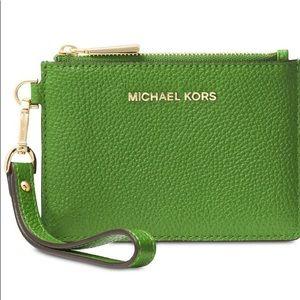MK Coin Ring Wristlet Wallet